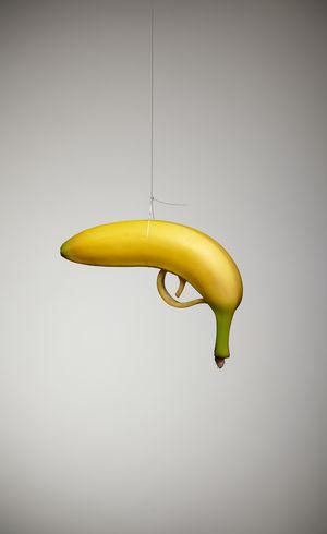 Banana Gun - Campaign for Illegal Bar Photo:BoysPlayNice.com