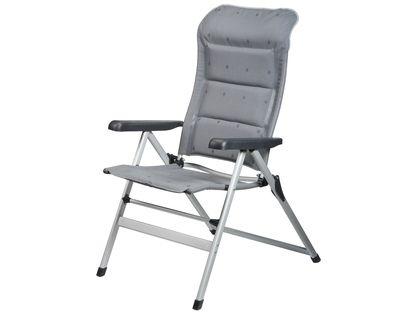 Kampeerstoel Sienna van Campart Travel is ideaal voor de kampeerder die van wat luxe houdt. De stoel heeft een ingebouwd hoofdkussen en gepolsterde bekleding. Lekker zacht dus! >> http://www.kampeerwereld.nl/campart-travel-sienna/