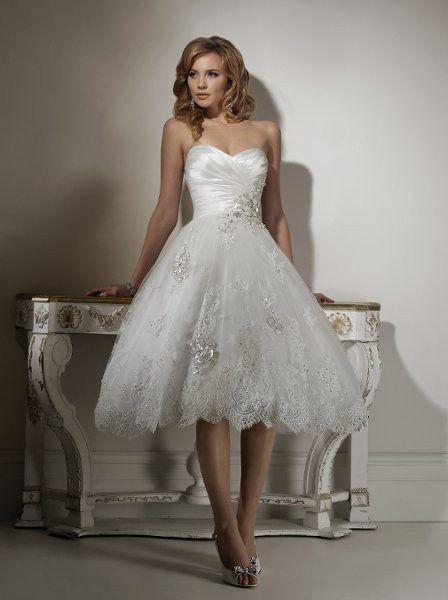 17 Best ideas about Short Wedding Dresses on Pinterest | Tea ...