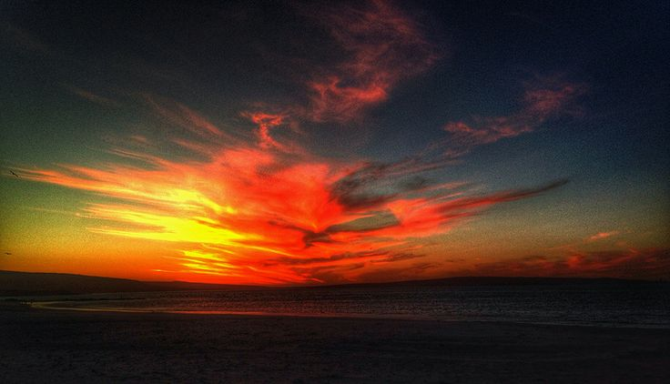 Magic hour Sunsets are a special time @ Langebaan
