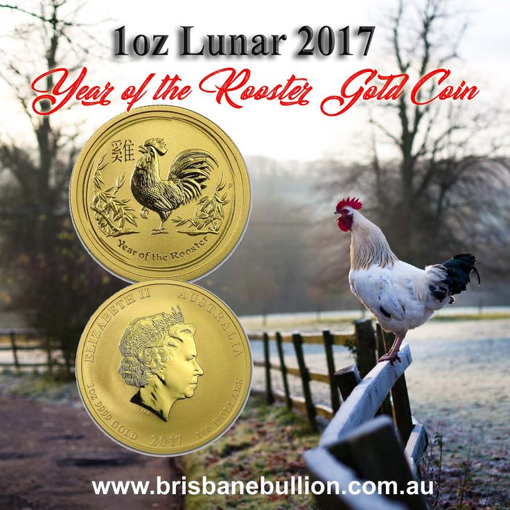 Buy Lunar 2017 1 oz Perth Mint Year of the Rooster Gold coins at Brisbae Bullion where you'll experience the lowest gold bullion prices online. Order now: https://brisbanebullion.com.au/1-oz-lunar-2017-year-of-the-rooster-gold-coin #RoosterCoins #GoldCoins #BrisbaneBullion #GoldBullion #PerthMint #AustralianBullions #Lunar #LunarSeries #BestGoldSilverDealer #Brisbane #goldr #golddealer #brisbanegoldcoins #brisbanedealer #brisbanelocaldealer #onlinestore