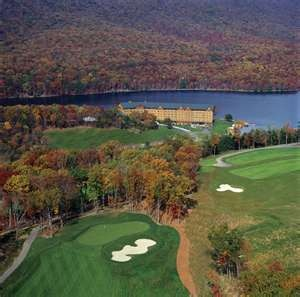 The Rocky Gap Golf Resort....gorgeous views and love the course!