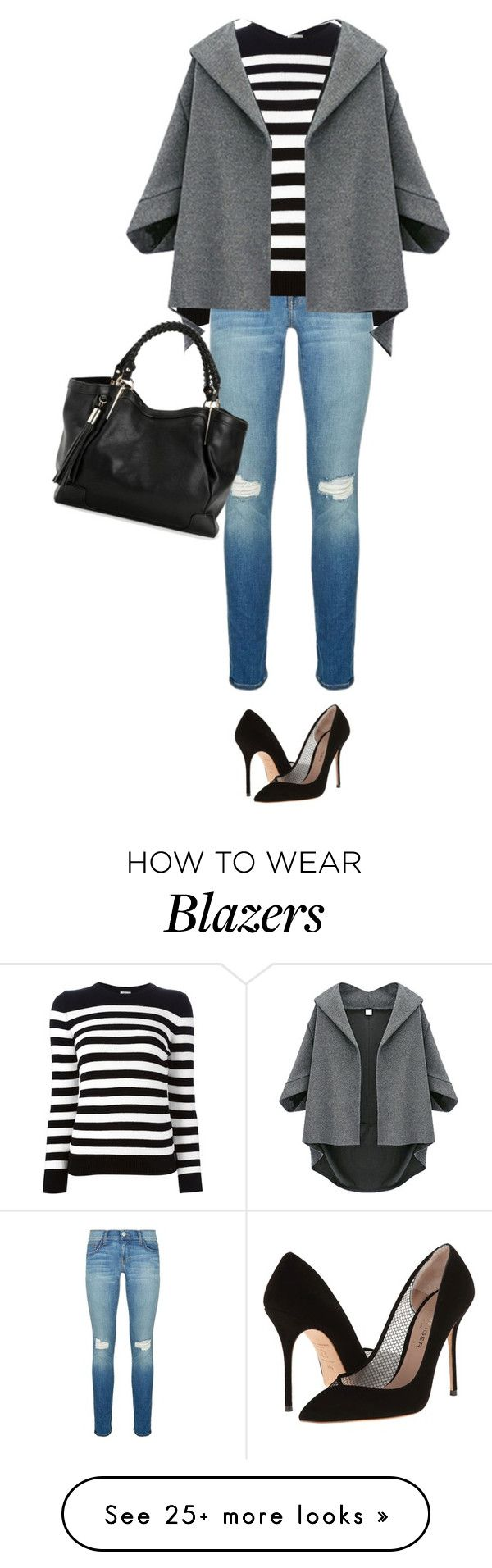 """Untitled #4030"" by linda56draco on Polyvore featuring Rebecca Minkoff, Kurt Geiger and Yves Saint Laurent"