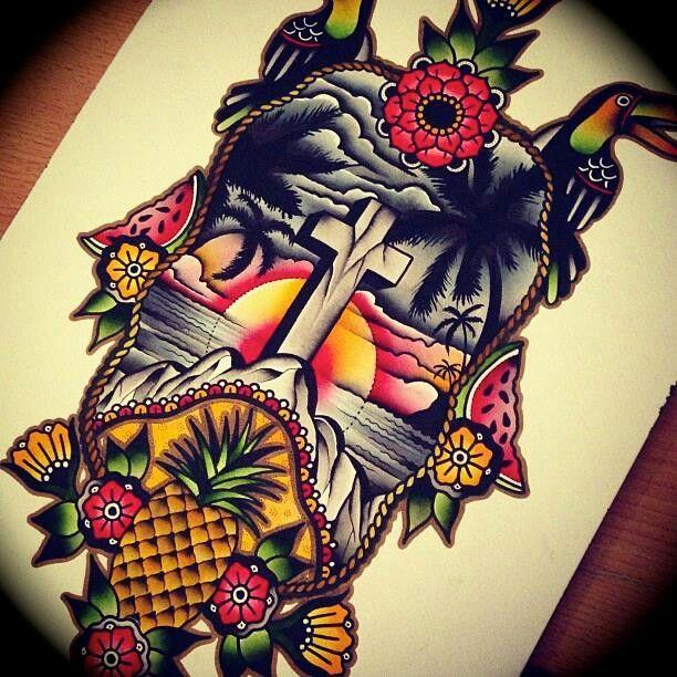 31 best hawaii tattoos images on pinterest hawaii for Hawaiian style tattoos