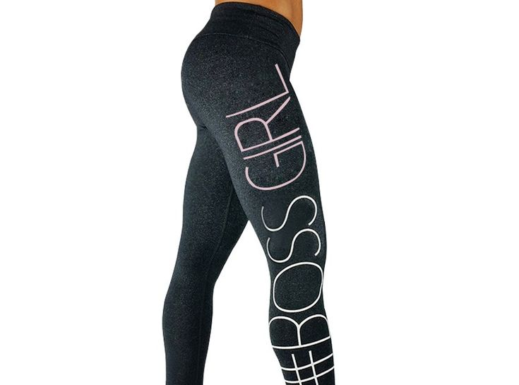 Cheap Price 2018 Elasticity Print Letter Female Tights -5328