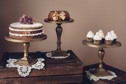 Antikolt arany fa tortatálak - Lady1 | Jack&Jane tortaállványok