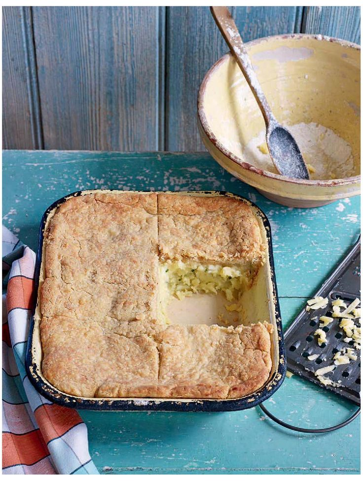 ISSUU - Cheese, Potato & Onion Pie from PAUL HOLLYWOOD'S PIES & PUDS by Bloomsbury Publishing