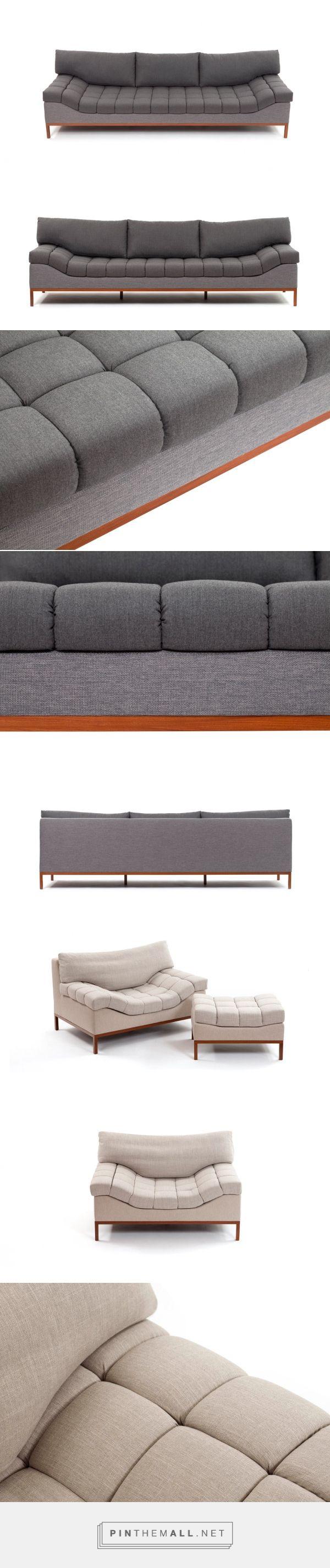 A Cloud-Inspired Sofa and Armchair - Design Milk - created via http://pinthemall.net