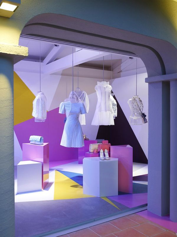 Window Visual Merchandising | VM | Window Display | Chanel Boutique at La MistraléeHotel in Saint-Tropez