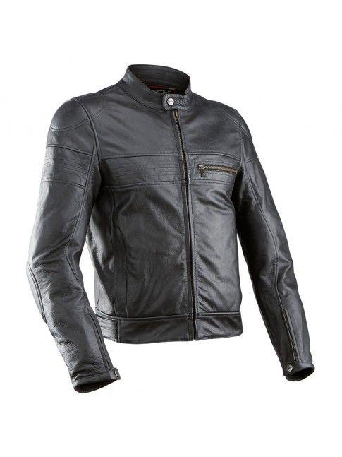 MTECH SUPERAXEL giacca da moto . Realizzata nella speciale PELLE USED a effetto invecchiato, vanta cerniere in ottone e il miglior design cafe racer in circolazione.