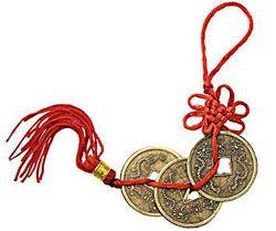 китайская монета счастья фен шуй