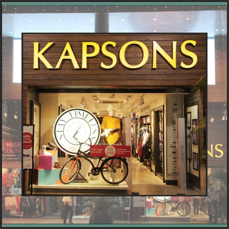 Own the weekend!! Be the star of the weekend get together... Chicest winter fashion by the brands you love under one roof only at KAPSONS #Kapsons #WinterFashion
