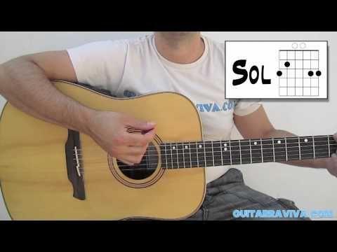 LECCION 9 - INICIACION GUITARRA ACUSTICA - CLASES GRATIS COMO APRENDER TOCAR GUITARRA - YouTube
