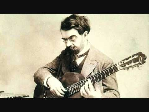 Francisco de Asís Tárrega y Eixea (21 November 1852 - 15 December 1909) was an influential Spanish composer and guitarist of the Romantic period. Just lovely...