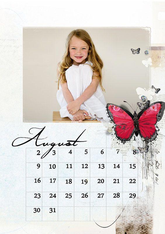 Scrapbookgraphics.com :: Calendars :: Calendar 2015 English 1