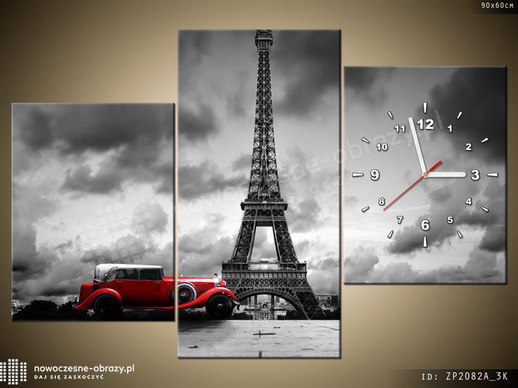 wieża Eiffla - fotozegar
