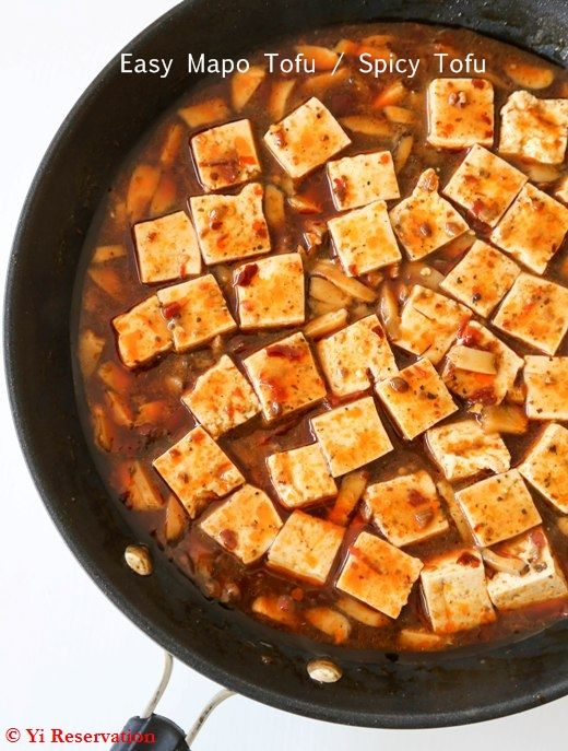Spicy Tofu With Beef And Sichuan Peppercorn Recipe — Dishmaps