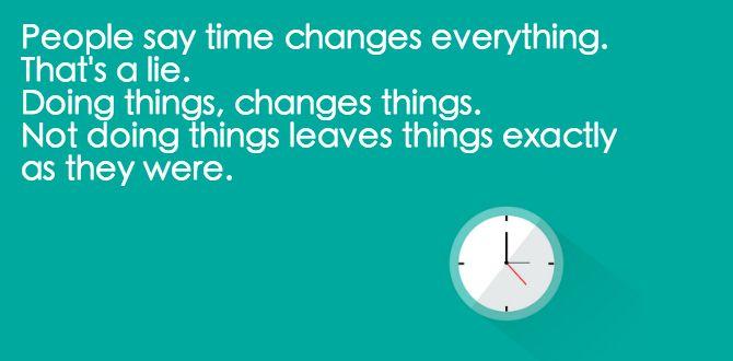 citat om tid
