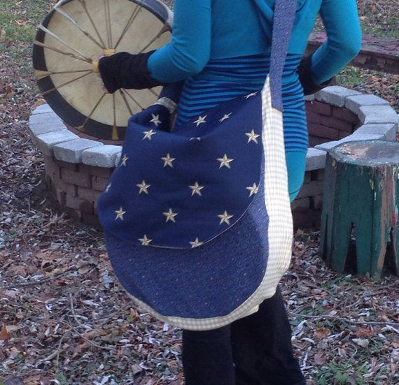 Drum bag for Native American style hand drums frame drums on Etsy, $83.00