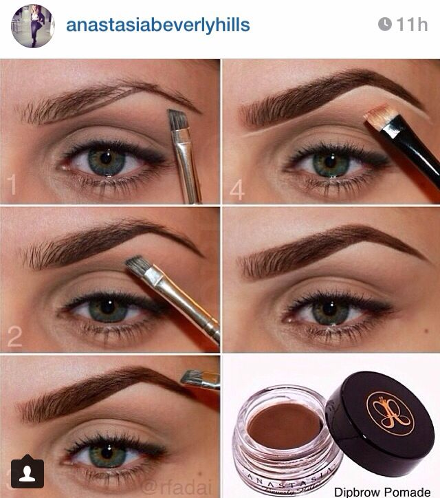 I have this stuff! Anastacia Beverly Hills brow gel. totally works. - @baileekharris