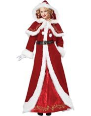 Deluxe Mrs. Claus Adult Costume