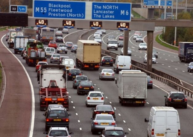 Drivers using the M6 and M55 around Preston in Lancashire are being warned that there will be weekend motorway closures in the coming weeks ...