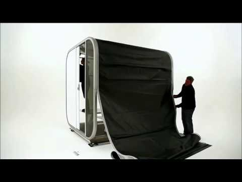 SNOOZY the Mobile hotel room - YouTube