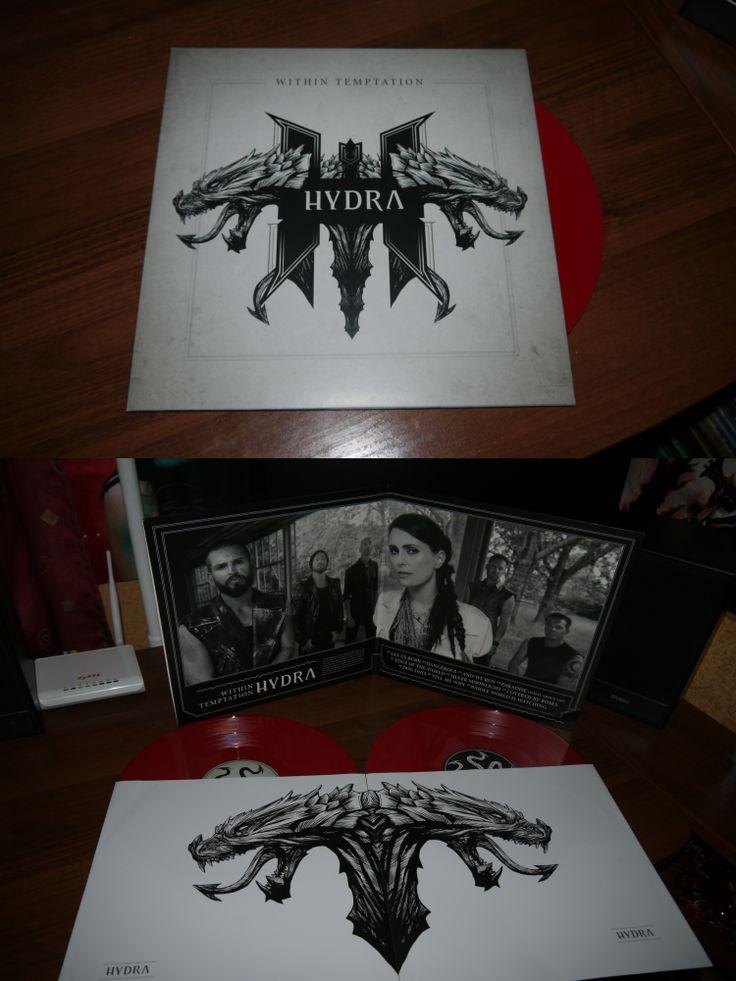 Within Temptation - Hydra 2 LP Red Vinyl (BMG, 2014)