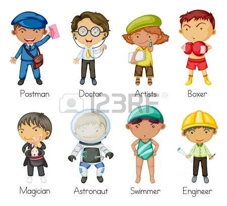 illustrazione di un programma per bambini su uno sfondo bianco photo