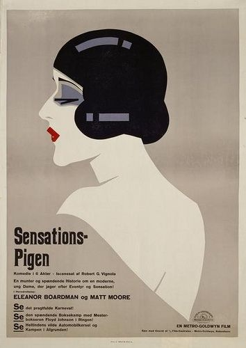 Sven Brasch (1886-1970) is undoubtedly the most highly revered Danish poster designer. From his movie posters to his commercial designs