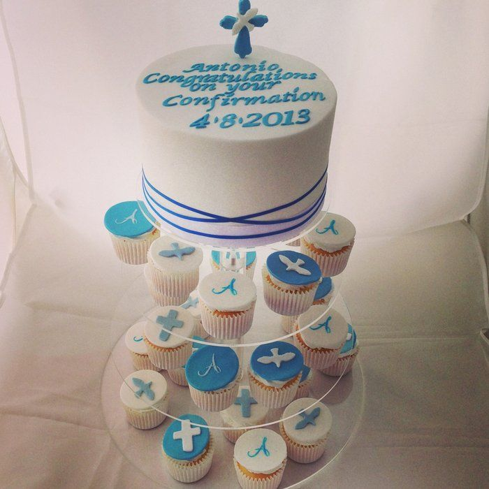 Boys communion cake - by Priscilla's Cakes @ CakesDecor.com - cake decorating website