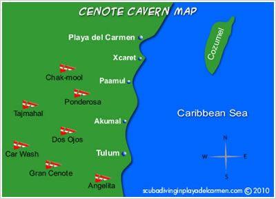 Cenotes Playa del Carmen Cenote diving
