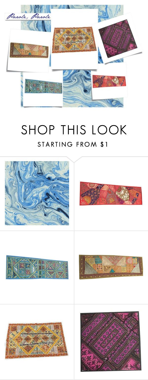 TAPESTRIES by baydeals on Polyvore featuring interior, interiors, interior design, home, home decor, interior decorating, Post-It, White Label and vintage  http://www.polyvore.com/cgi/set?id=202124663  #tapestry #vintage #indian #ethnic #decorative #homedecor #mogulinterior #wallhanging