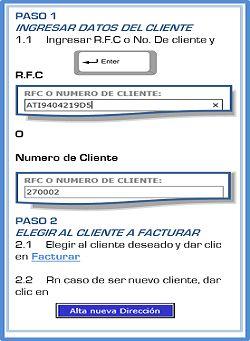 Datos de Facturación  RFC O NUMERO DE CLIENTE: VPF110226KW6        Acerca de los certificados SSL Aviso de Privacidad