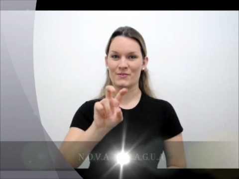CURSO DE LIBRAS -  CUMPRIMENTOS - YouTube