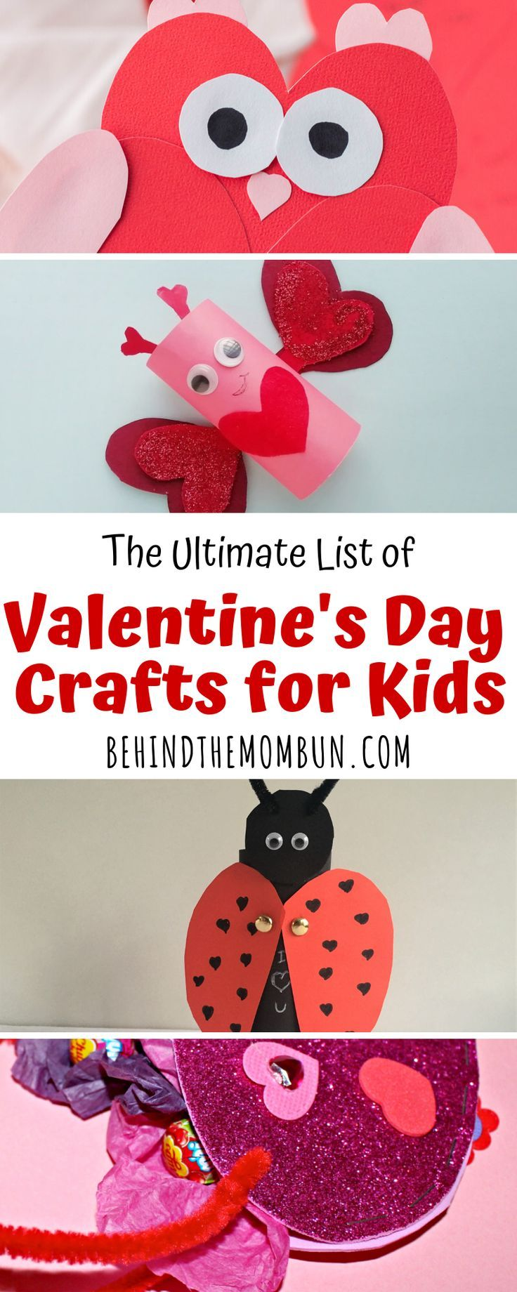 23 Easy Valentine S Day Crafts For Kids Activities For Kids