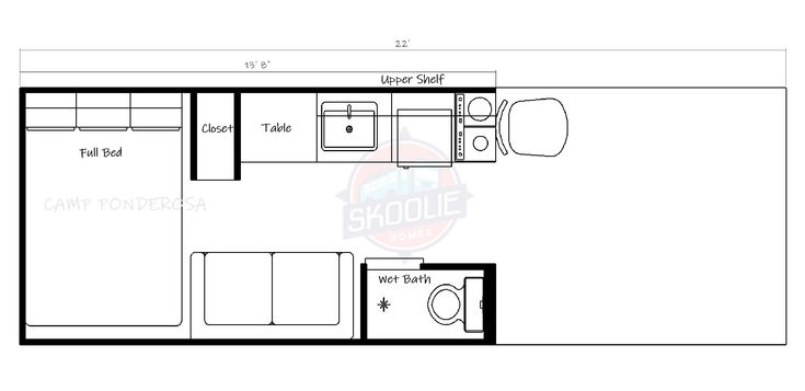 CAMP PONDEROSA Skoolie Homes Bus Conversion Services