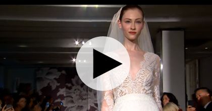 Brides: Watch Carolina Herrera's Spring 2015 Bridal Runway Show