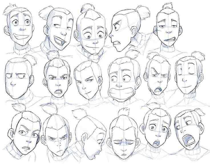 Character Design Essentials : Avatars friend essential expression challenge