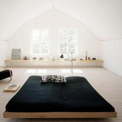 Minimalist Bedroom #awesomespaces