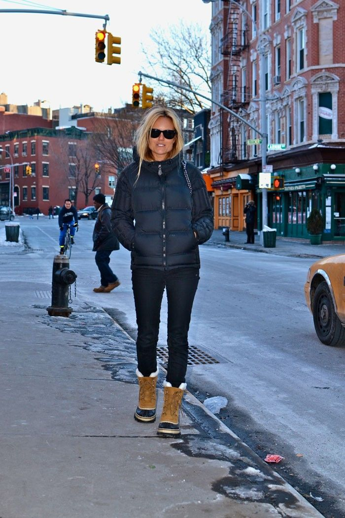 Sofis - Love the look with Sorels
