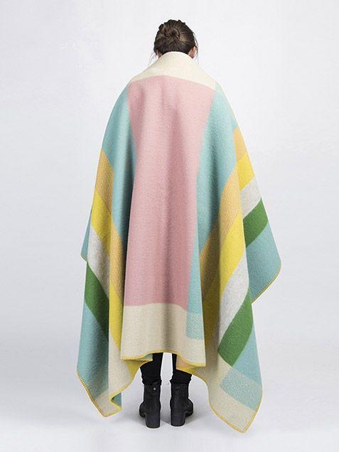 Røros Tweed Mikkel Wool Blanket Pantone Color of the Year 2016 Rose Quartz SS16