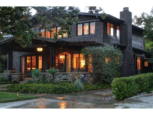 1000 ideas about craftsman style exterior on pinterest for Pasadena craftsman homes