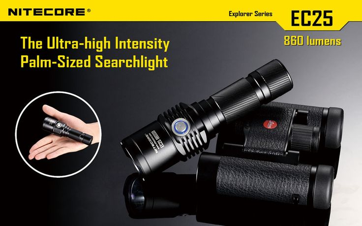 """Features Utilizes a CREE XM-L U2 LED  (NEUTRAL version) Maximum output of up to 860 lumens Radiator fins integrated into the head design provide better cooling for exceptional overall performance Integrated """"ޏPrecision Digital Optics Technology""""¶ provides extreme reflector performance Boasts a peak beam intensity of 12,500 cd and a throw distance of up to 222 meters. Plus more... #hidcanada"""