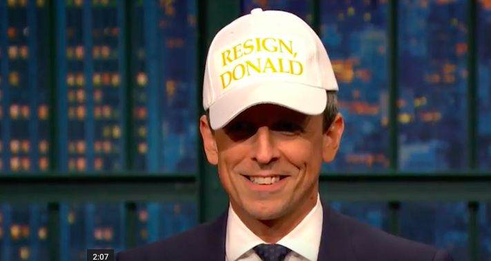 Seth Meyers Has A Not-So-Subtle Message For Donald Trump   HuffPost