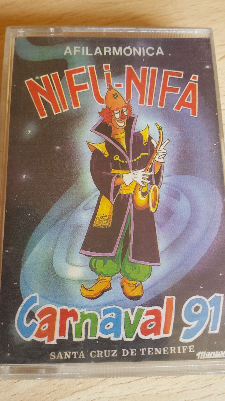 Vendo casete Afilarmónica Nifú Nifá, Carnaval de Santa Cruz de Tenerife. Cómpralo aquí: http://www.todocoleccion.net/casetes-antiguos/casete-afilarmonica-nifu-nifa-ano-91-carnaval-tenerife~x54262846