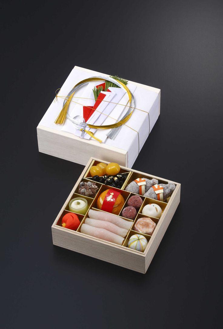 Japanese Wagashi <源吉兆庵>おせち菓子
