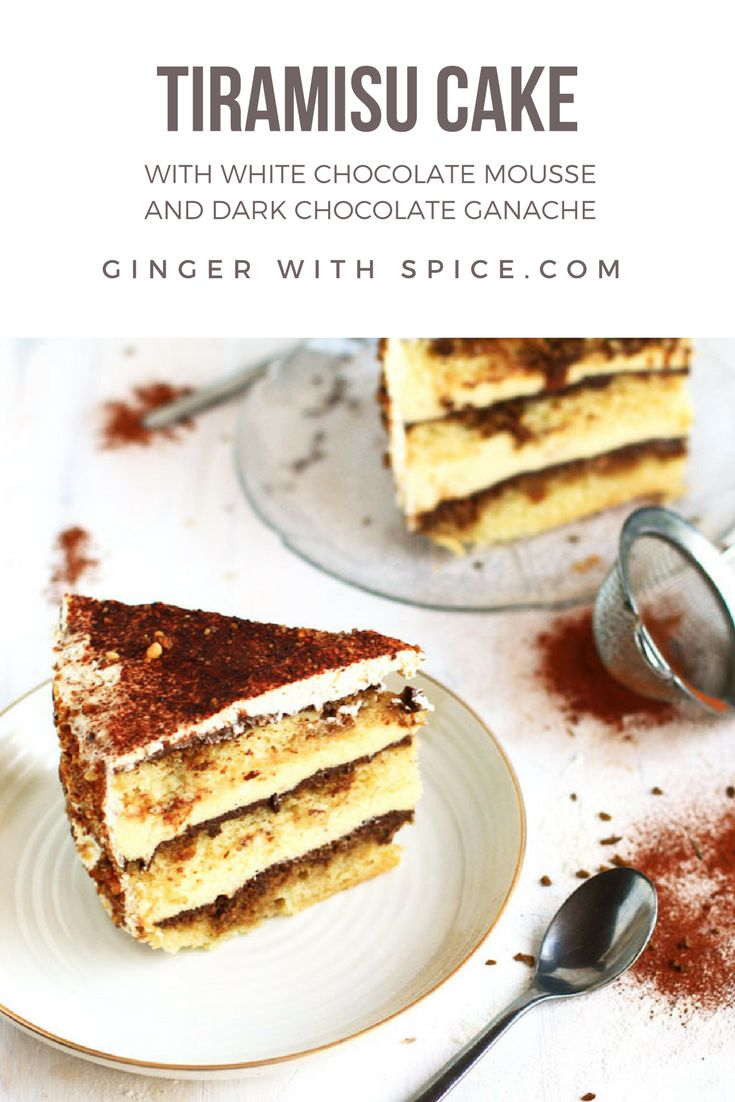 Fluffy ricotta cake layered with chocolate ganache and a white chocolate and cream cheese mousse. It's extravagant, it's decadent, it's delicious. Click to find the recipe!