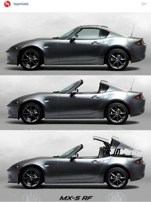 The 2017 Mazda Miata RF Hard Top Convertible: This Is It