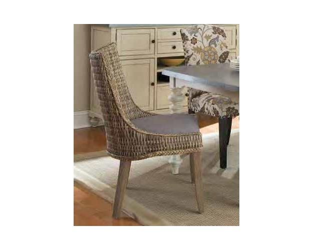 Woven Side Chair (grey)